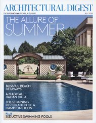 Architectural Digest July 2013 - Exquisite Surfaces