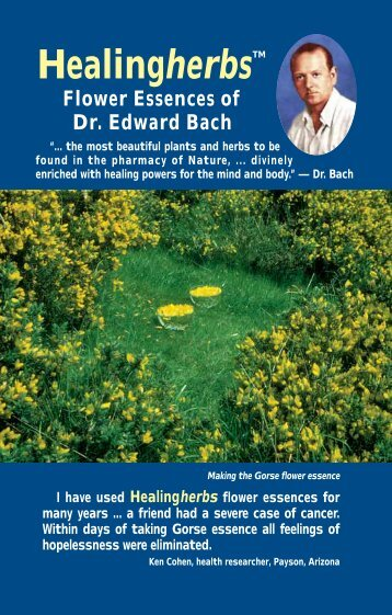 The Healing Herbs of Dr. Bach - Flower Essence Services