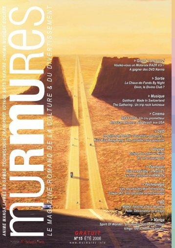 GRATUIT - Murmures Magazine