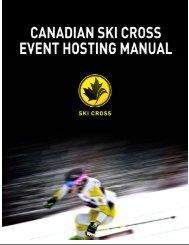 Ski cross event manual - Alpine Canada
