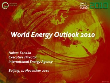 World Energy Outlook 2010 - Europe's Energy Portal