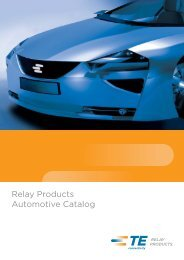 Relay Products Automotive Catalog - Acte Supply