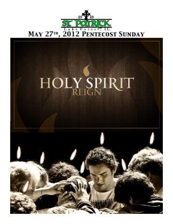 Men's Mass - St. Patrick Catholic Church   Lake Forest, IL