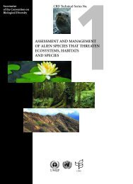 Assessment and management of alien species that threaten ...