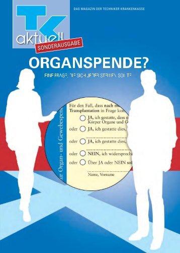 TK-aktuell-Organspende