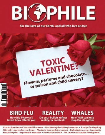 Issue 8/2006 R20 in cl. V A T - Biophile Magazine