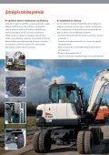 E55W | Excavadora de ruedas - Bobcat.eu - Page 2