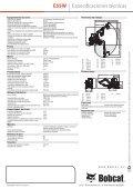 E55W | Excavadora de ruedas - Bobcat.eu - Page 6