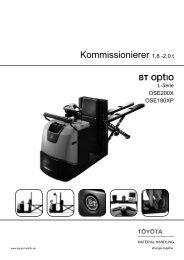 Niederhub-Kommissionierer Optio OSE200X / 180X(P)