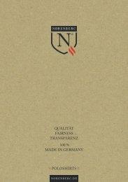 Norenberc – Poloshirts Lookbook 2015