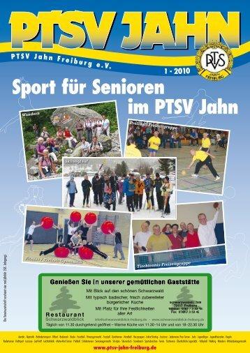 WICHTIGE TERMINE: Turn - PTSV Jahn Freiburg