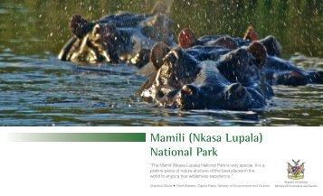Mamili (Nkasa Lupala) National Park - Ministry of Environment and ...