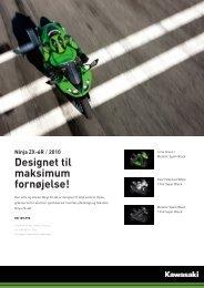 Ninja ZX-6R - KJ Motorcykler