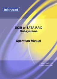 SCSI to SATA RAID Subsystems Operation Manual