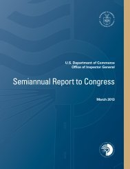Semiannual Report to Congress, March 2013 - Office of Inspector ...