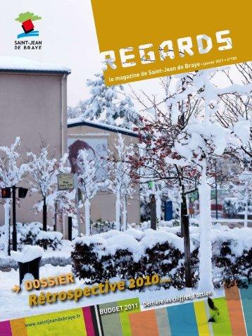 """Regards"" 150, janvier 2011 (pdf - 2,90 Mo) - Ville de Saint Jean de ..."