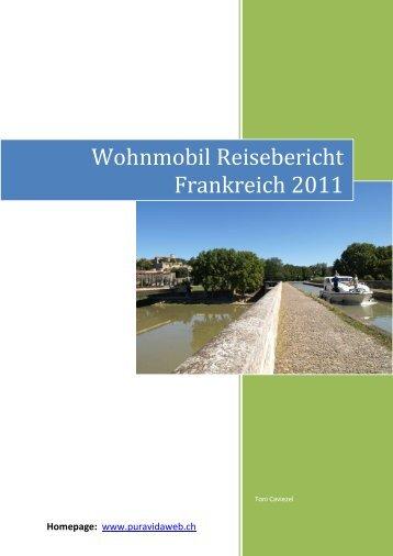 Wohnmobil Reisebericht Frankreich 2011 - Weltumseglung SY Pura ...