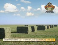 first with a better way – 30 years of large square balers - AGCO Iron