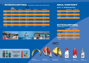 Kitesurfing Multisport - Tommy Friedl - Pro Center - Hurghada