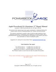 """Apple Powerbook G4 Aluminum 12"""" Repair ... - Powerbook Medic"""