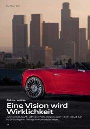 e-tron - Audi Geschäftsbericht 2012