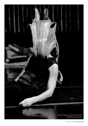 Mensaje ecologista en la obra de las rosarinas ... - Balletin Dance