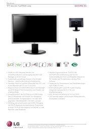 Monitore TFTMonitorFLATRONwide E2210PM-SN - Pollin Electronic ...
