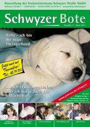 Ausgabe April 2011 - Wohnen - Betreuen - Pflegen