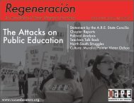 Regeneración - Association of Raza Educators