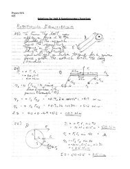 Physics NYA A05 Solutions for Unit 8 Supplementary Exercises