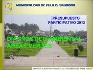 Diapositiva 1 - Municipalidad de Villa El Salvador