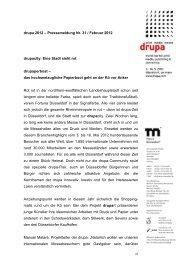 drupa 2012 – Pressemeldung Nr. 31 / Februar ... - Messe Düsseldorf