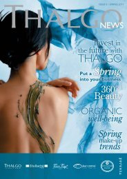 Thalgo News issue 5 - spring 2011 - Leisure Opportunities