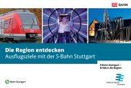 Die Region entdecken Ausflugsziele mit der S-Bahn Stuttgart