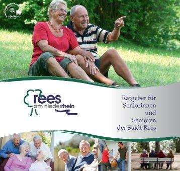 Ratgeber für Seniorinnen und Senioren der Stadt Rees