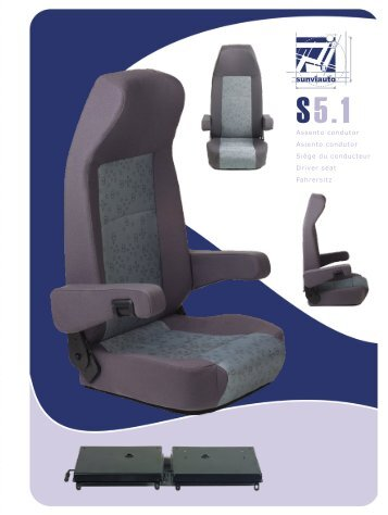 Assento condutor Asiento condutor Siège du conducteur Driver seat ...