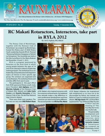 11 - Rotary Club of Makati