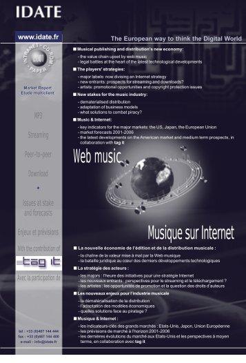 Web music Musique sur Internet