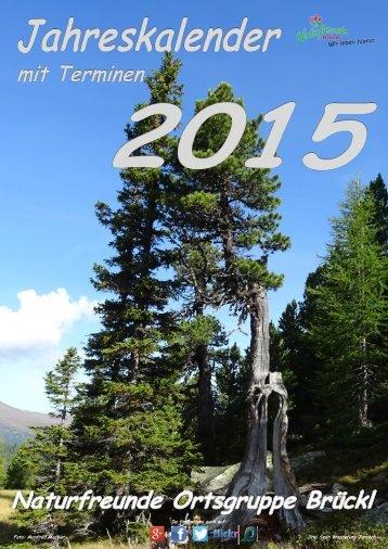 WANDKALENDER 2015