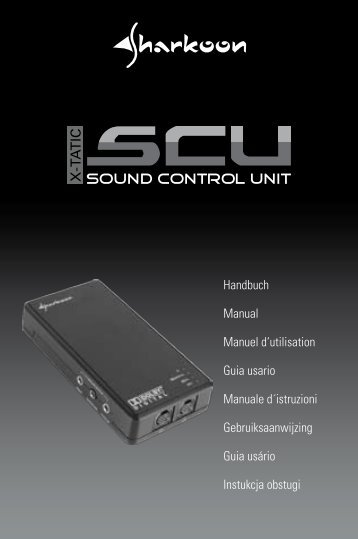 X X-TATIC SOUND CONTROL UNIT 88 - Sharkoon