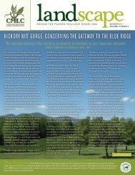 2011 Summer Newsletter - Carolina Mountain Land Conservancy