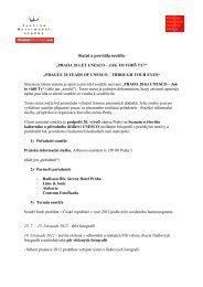 Statut a pravidla soutěže - Pražská informační služba