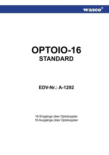 OPTOIO-16 - Messcomp Datentechnik GmbH