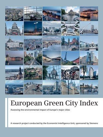 European-Green-City-Index