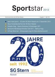 Chronik - SG Stern Rastatt - SG Stern Deutschland