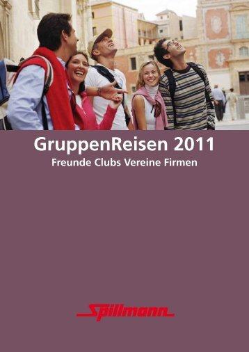 GruppenReisen 2011