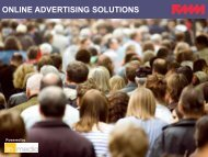 ONLINE ADVERTISING SOLUTIONS - Fox 11