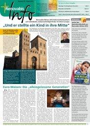 Renovabis-Info Nr. 29, Ostern 2012