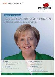 """""""SO LÄSST SICH TEILHABE VERWIRKLICHEN"""" - Sozialwahl 2011"""