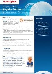 Singularsoftware Avangate case study 20110728